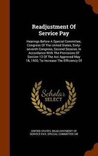 Readjustment of Service Pay