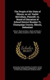 The People of the State of Illinois, Ex Rel. Vashti McCollum, Plaintiff, vs. Board of Education of School District Number 71, Champaign County, Illinois, Defendant