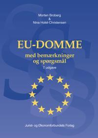 EU-domme med bemærkninger og spørgsmål