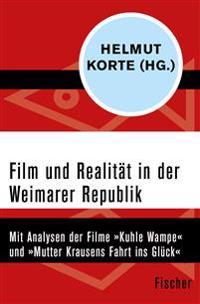 Film und Realität in der Weimarer Republik