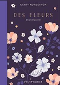 Des Fleures : 20 greeting cards