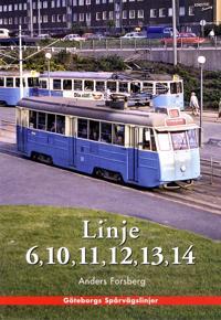 Göteborgshäfte - Linje 6, 10, 11, 12, 13, 14