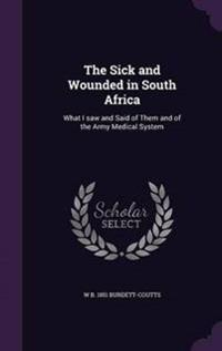 The Sick and Wounded in South Africa