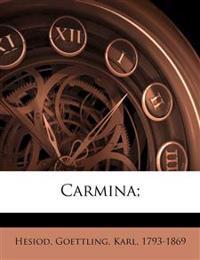 Carmina;