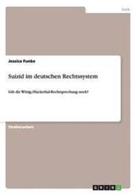 Suizid im deutschen Rechtssystem