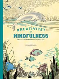 Kreativitet och mindfulness - 24 kort från vattenriket att färglägga och skicka : 24 kort från vattenriket att färglägga och skicka