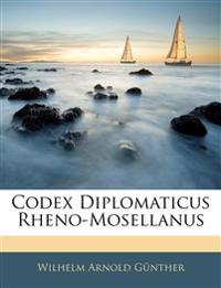 Codex Diplomaticus Rheno-Mosellanus, III Theil