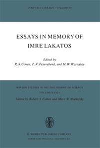 Essays in Memory of Imre Lakatos