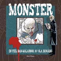 Monster : en feel bad-målarbok