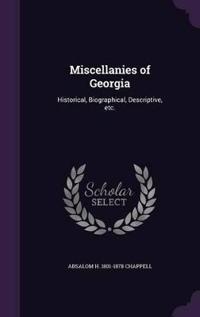 Miscellanies of Georgia