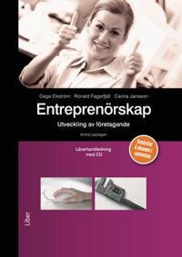 Entreprenörskap Lärarhandledning med cd - utveckling av företagande