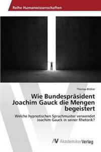 Wie Bundesprasident Joachim Gauck Die Mengen Begeistert