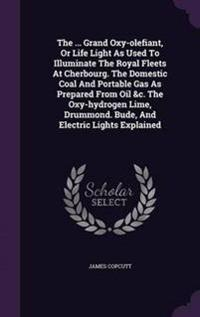 The ... Grand Oxy-Olefiant, or Life Light as Used to Illuminate the Royal Fleets at Cherbourg. the Domestic Coal and Portable Gas as Prepared from Oil &C. the Oxy-Hydrogen Lime, Drummond. Bude, and Electric Lights Explained