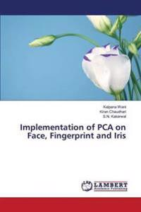 Implementation of Pca on Face, Fingerprint and Iris