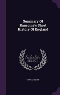 Summary of Ransome's Short History of England