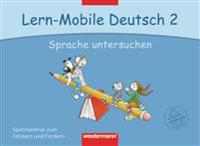 Lern-Mobile Deutsch 2. Sprache untersuchen: Arbeitsheft
