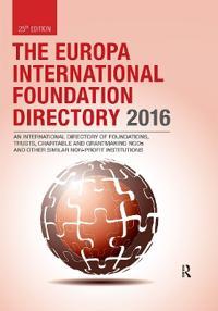 The Europa International Foundation Directory 2016