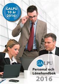 GALPU Personal och lönehandbok 2016