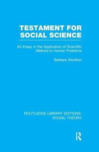 Testament for Social Science