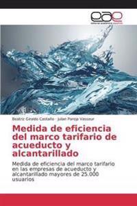 Medida de Eficiencia del Marco Tarifario de Acueducto y Alcantarillado