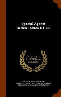 Special Agents Series, Issues 111-115
