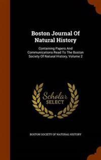 Boston Journal of Natural History