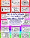 Satt Pa Din Favoritmusik Coloring Book Ordet Karlek I 24 Sprak: Engelska Spanska Franska Italienska Tyska Dutch Maori Danish Norwegian Portugisiska Sv