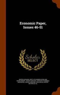 Economic Paper, Issues 46-51