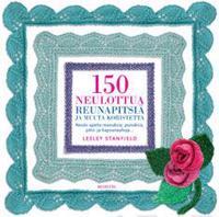 150 neulottua reunapitsiä ja muuta koristetta