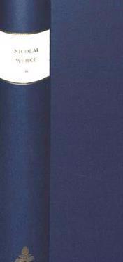 Saemtliche Werke - Briefe - Dokumente: Kritische Ausgabe Mit Kommentar Band 6. Erster Teil: Text. Gedaechtnisschriften Und Philosophische Abhandlungen