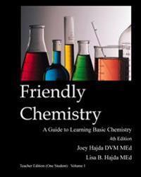Friendly Chemistry - Teacher Edition (One Student) Volume 1