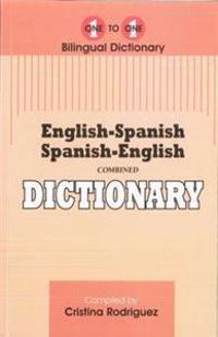 English-SpanishSpanish-English One-to-One Dictionary