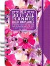 2017 Bold Blossoms Do It All Planner