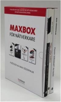 Maxbox för Nätverkare - Fyra böcker som hjälper dig att lyckas med din nätverksförsäljning