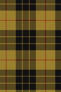 MacLeod Yellow Tartan Plaid Journal