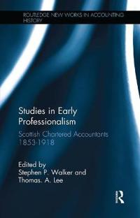 Studies in Early Professionalism
