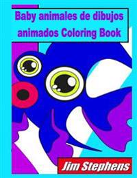 Baby Animales de Dibujos Animados Coloring Book