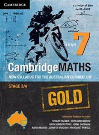 Cambridge Mathematics Gold Nsw Syllabus for the Australian Curriculum Year 7 Pack and Hotmaths Bundle