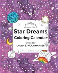 Star Dreams Coloring Calendar