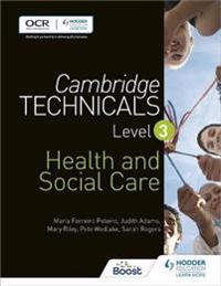 Cambridge Technicalshealth and Social Care Level 3
