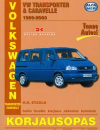 Volkswagen Transporter amp; Carevelle 1990-2003 bensiini- ja dieselmallit