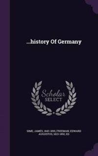 ...History of Germany