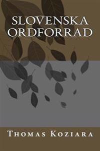 Slovenska Ordforrad