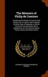 The Memoirs of Philip de Comines