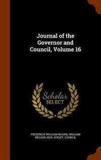 Journal of the Governor and Council, Volume 16
