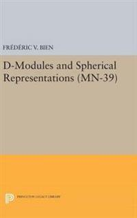 D-modules and Spherical Representations