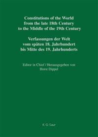 Constitutional Documents of the United Kingdom 1782-1835 / Verfassungsdokumente Des Vereinigten Königreichs 1782-1835
