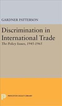 Discrimination in International Trade