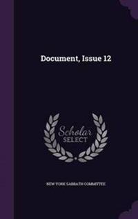 Document, Issue 12