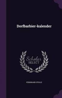 Dorfbarbier-Kalender